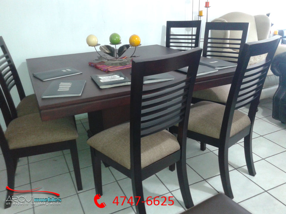 Lo mejor en muebles muebles en guatemala muebles de madera for Comedores de madera nuevos